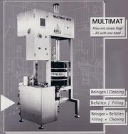 Установка для разлива пива( др. жидкостей) в кеги Multimat MT/2 из Германии