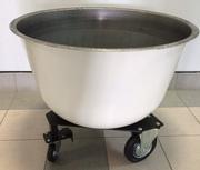 Дежи (Дежа 140 лит.) из углеродистой стали,  сварная каретка
